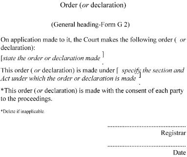 Family Courts Rules 2002 (Sr 2002/261) (As At 03 August 2009