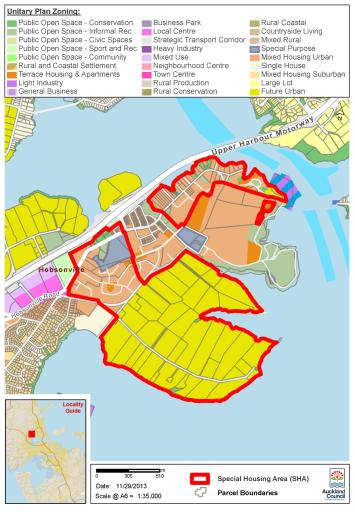 Housing Accords and Special Housing Areas (Auckland) Order 2013 (SR ...